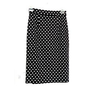 Forever 21 | Women's Polka Dot Pencil Skirt